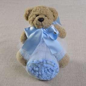 Urso Azul e Mantinha