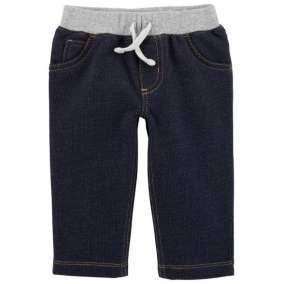 Calça Jeans Cintura Ribana