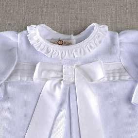 Vestido e Meia Calça Laço Dior