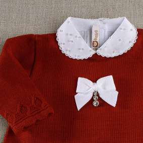 Vestido Gotas Vermelhas