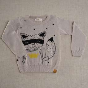 Sweater Kid Bege Mescla