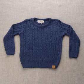 Sweater Collors Azul Jeans