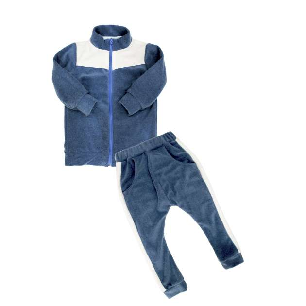 Conjunto Moletinho Soft Azul
