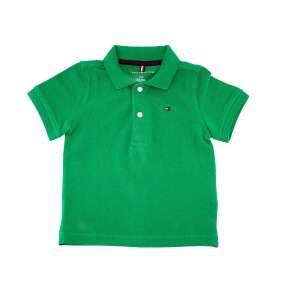 Camiseta Gola Polo Verde Escura Manga Curta Tommy