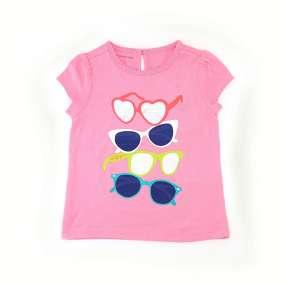 Camiseta Rosa Óculos Tommy