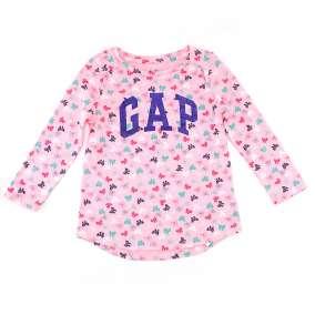 Camiseta Rosa Laços GAP