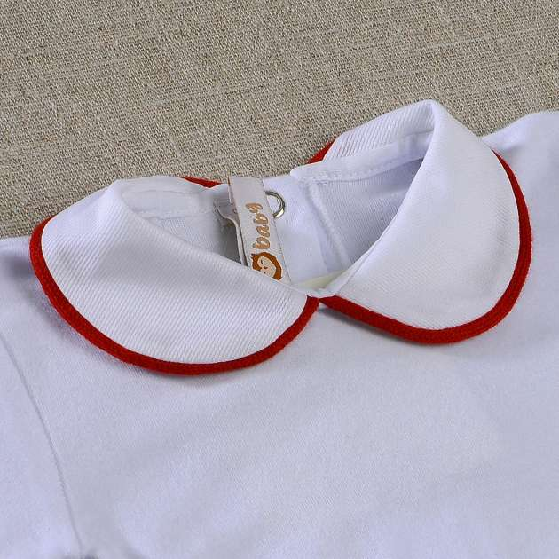 Body Gola Borda Vermelha