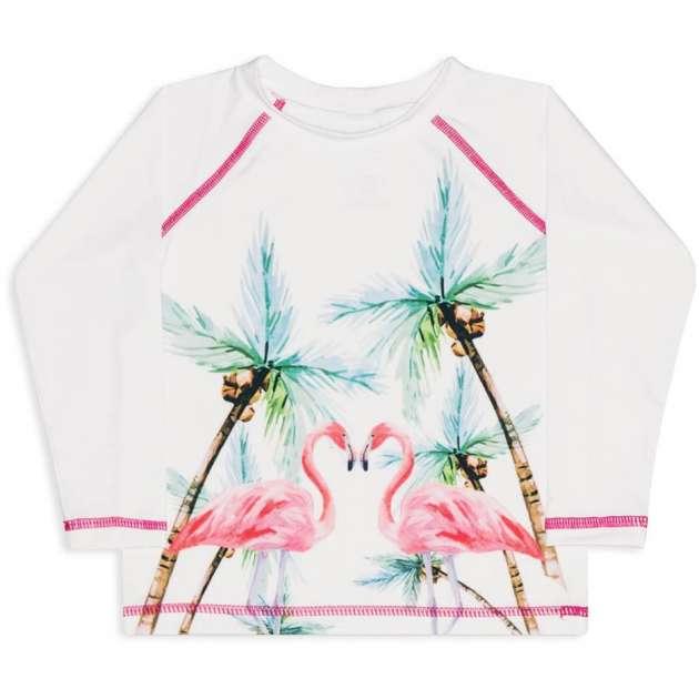 Camiseta Filtro Solar Flamingos