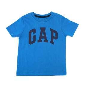 Camiseta Manga Curta Azul Gap