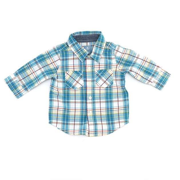 Camisa Manga Longa com Botões Gap