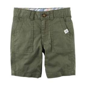 Bermuda Jeans Verde Militar Carter's