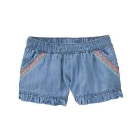 Short Jeans com Bordado
