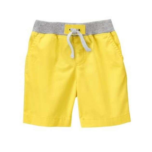 Bermuda Algodão Amarela