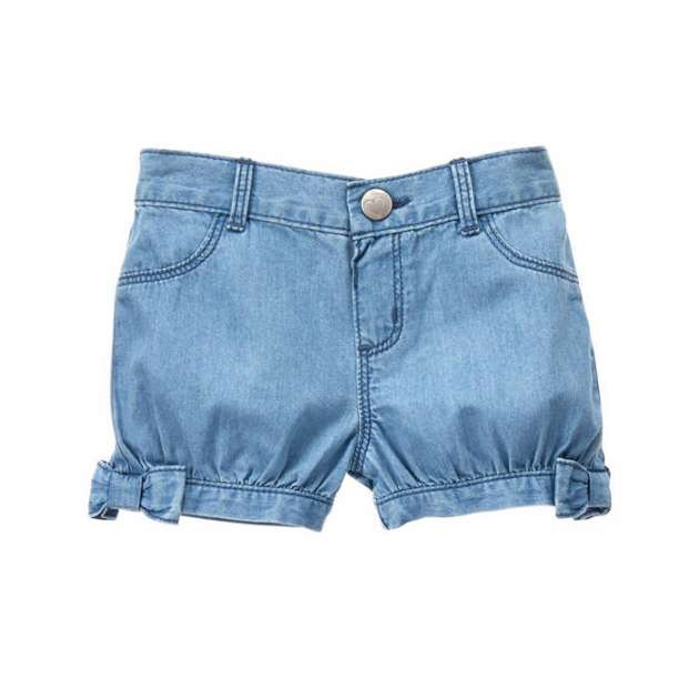 Short Jeans com Laço