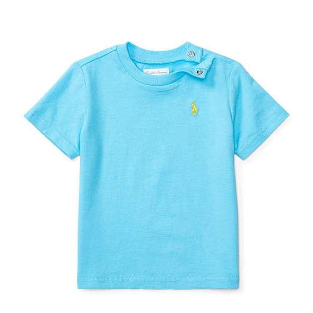 Camiseta Azul Claro Polo Ralph Lauren