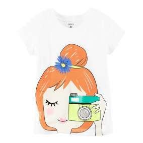 Camiseta Menina Fotografia Carter's