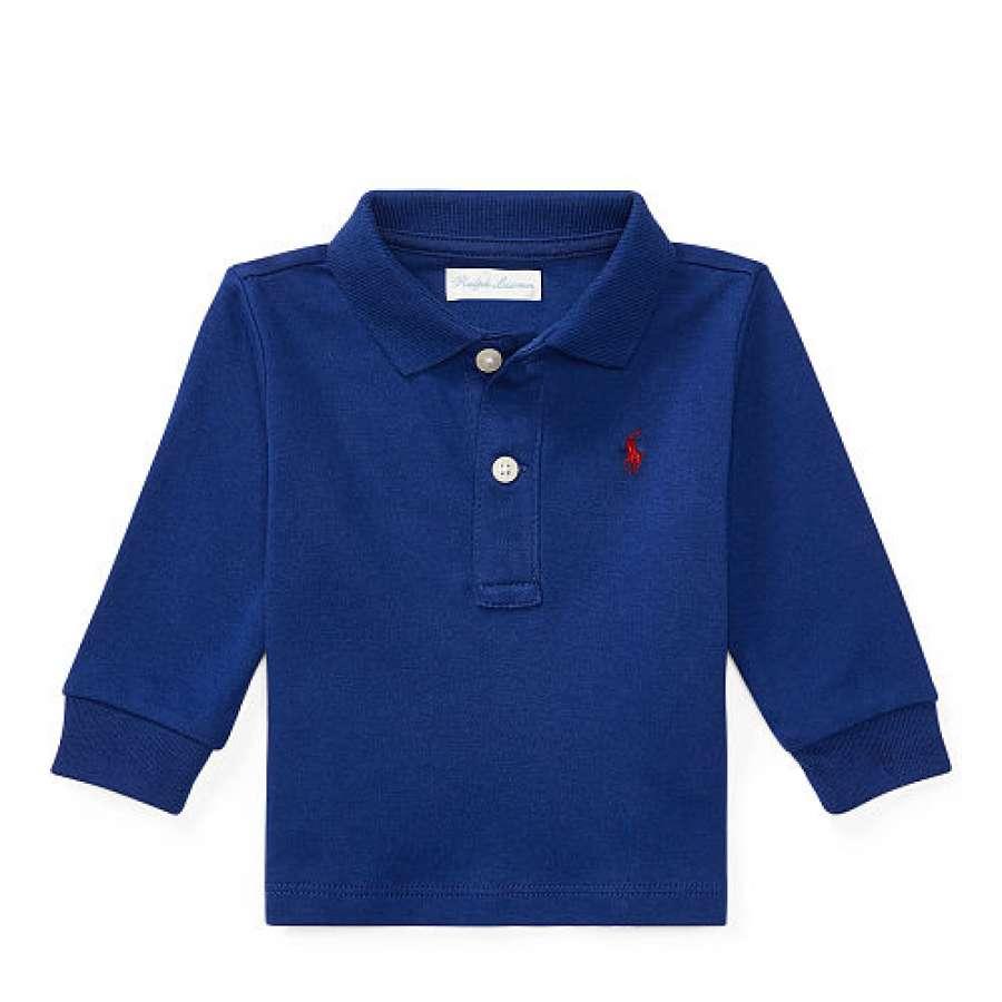 486a8a4f5 Camiseta Gola Polo Azul Royal Manga Longa Polo Ralph Lauren