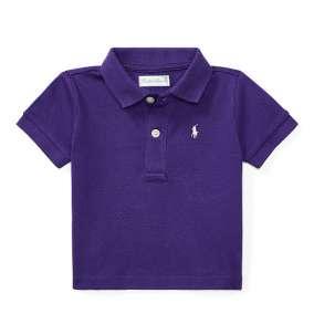 Camiseta Gola Polo Roxa Polo Ralph Lauren