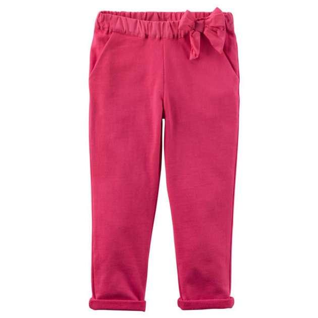Calça Moletom Rosa Pink Carter's