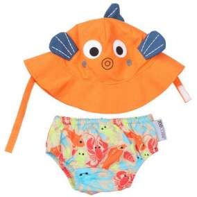 Kit Piscina e Praia Zoocchini Fish