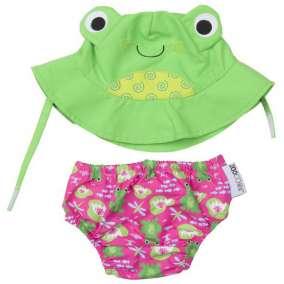 Kit Piscina e Praia Zoocchini Frog
