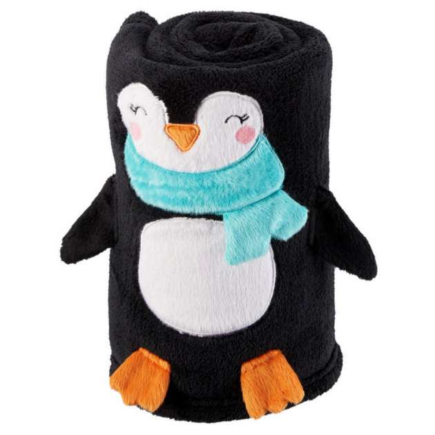 Manta Pinguim Plush Carter´s