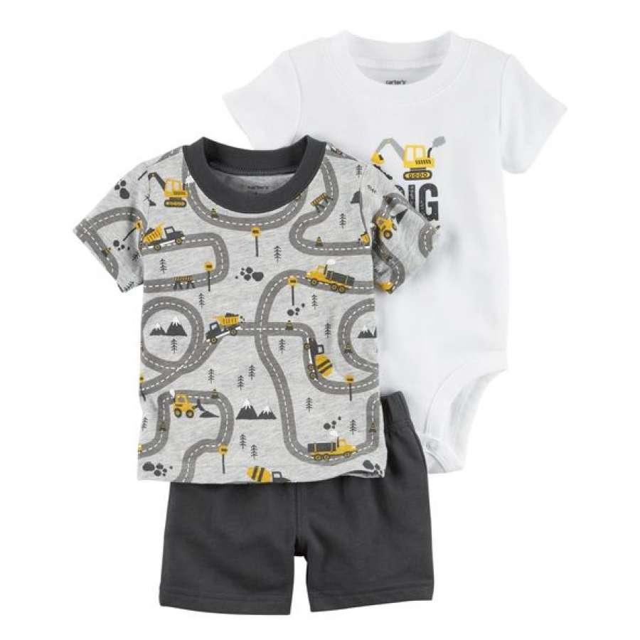3 Peças - Conjunto Camiseta 37d79f574ca