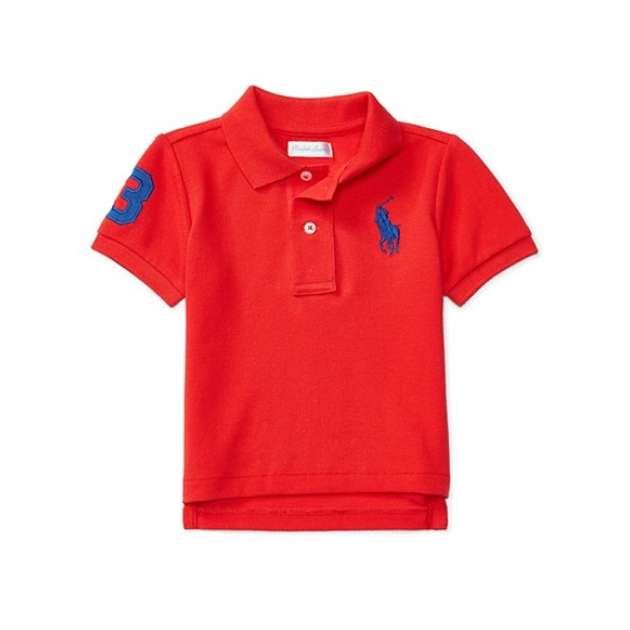 Camiseta Gola Polo Vermelha Manga Curta Polo Ralph Lauren
